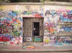 Rue de Verneuil, former residence of Serge Gainsbourg and Jane Birkin