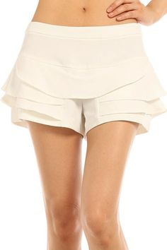 Arris Fashion - Sassy Classy Tiered Shorts, $25.00 (http://www.arrisfashion.com/sassy-classy-tiered-shorts/)