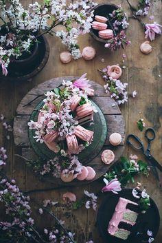 ::Macaroons::Spring::Flowers::Rustic::