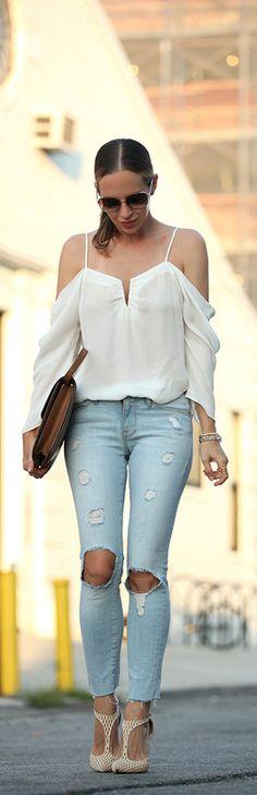 Distressed / Fashion By Brooklyn Blonde
