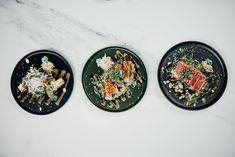 Las Mejores recetas de la comida asiática Wok Recipes, Quick Recipes, Asian Recipes, Whole Food Recipes, Cooking Recipes, Sushi, Raw Salmon, Food Flatlay, Food Presentation