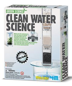 Another great find on #zulily! Clean Water Science Experiment Kit #zulilyfinds