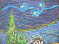 The Elementary Art Room!: The Starry Night