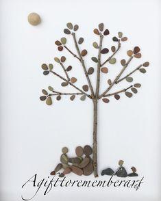 SOLD! #agifttorememberart #pebbleart #nature #roomdecor #etsy #makersgonnamake #newbaby #familyof3 #love #family #art #instaphoto #instaart #instagood #babies #tree #birds #adelaide #australia #photooftheday #artwork #handmade #gift #interiordesign #frame #neshatghaffari