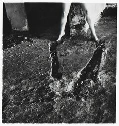 Francesca Woodman . rom Angel series, Rome, Italy (I.171), 1977-8