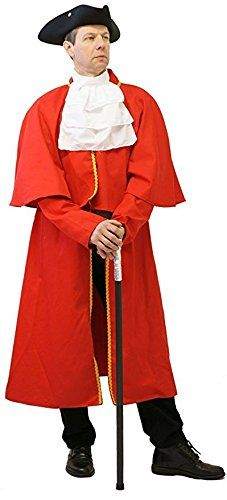PantoFancy DressVictorianLarpCosplayDeluxe Regency MENS TOWN CRIER COSTUME  From Sizes Small to XXXXL MEDIUM -- You can find out more details at the link of the image-affiliate link.