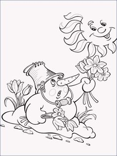 New Frühling Malvorlagen - Ae-Photo. Spring Coloring Pages, Mandala Coloring Pages, Coloring For Kids, Coloring Pages For Kids, Coloring Books, Embroidery Flowers Pattern, Flower Patterns, Paw Patrol Coloring, Red Words