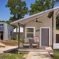 Inside Austin S 18 Million Tiny Home Village For The Homeless Business Insider In 2021 Tiny House Village Concrete House Homeless Housing