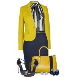 Work outfit other than the neck bow Business Mode, Business Outfits, Business Fashion, Business Style, Classy Outfits, Chic Outfits, Fashion Outfits, Womens Fashion, Office Fashion
