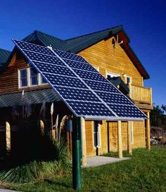 Sustainable Home Solar Energy System.  Daniel's degree is in sustainable home design