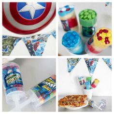Avengers themed party #marvel #avengers #cbias