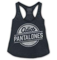 Adios Pantalones Tank