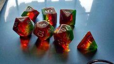 DND Dice Set Dungeons & Dragons D4 6 8 10 12 20 100 DND RPG MTG Gaming Dice NEW #Hengdadice