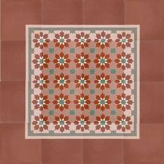 zementfliesen -> VN Pink 06 - Designfliesen