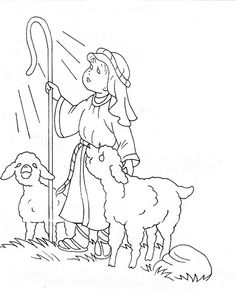 This Slideshow Of Nativity Coloring Pages Is A Great Way To