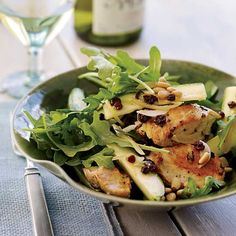 Salads with Chicken