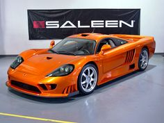 2006 Saleen S7 Twin Turbo Competition. Awesome American Supercar!