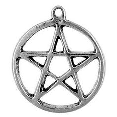 Protection - a perfect little Pentacle of protection to wear, to share with a favorite friend, or to adorn your pet. A small but powerful personal talisman.