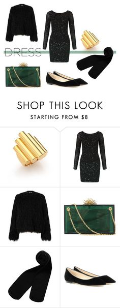"""""""Part of the Party"""" by lamemechose ❤ liked on Polyvore featuring Maiyet, Aidan Mattox, Samsøe & Samsøe, Charlotte Olympia, Monki and Jimmy Choo"""