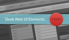 Sleek Web and Mobile UI Elements