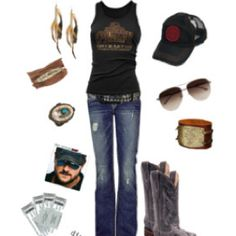 Love this! Definitely would have worn this to Eric Church's concert!!
