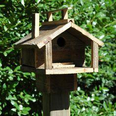 Wilderness Series WSBH167 Rustic Cabin Two Bird House - Outdoor Living Showroom