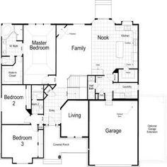 2f19719fe9ce4a77ef774c078e7ab879--square-feet-cambridge Vernet Footage Ivory Homes Floor Plan on