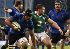 Thierry Dusautoir Irlande France 2015 6 nations