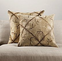 Vintage Oushak Pillow Collection