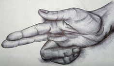 The contour hatching on the hand creates the effect and the shadow underneath the hand to show it is resting on a table or surface Biro Art, Biro Drawing, Ballpoint Pen Art, Waterman Pens, Alphabet Symbols, Sketch 2, Gcse Art, Cool Artwork, Art Boards
