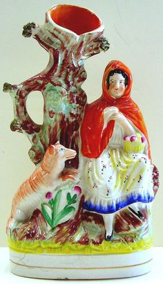 little red riding hood ceramics-.xx tracy porter-poetic wanderlust