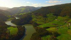 Valle del Navia en el Occidente de Asturias