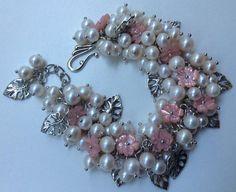 """Браслет """"Букетик невесты""""  #beadingbracelet #beadsbracelet #pandahall"""