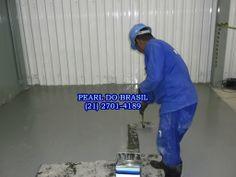 Piso Epóxi, pintura de piso industrial & comercial.