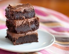 Coconut Milk Brownies - Recipe by The Princess in the Kitchen