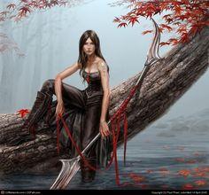 Fantasy Warrior Girl | character description - Forums - MyAnimeList.net