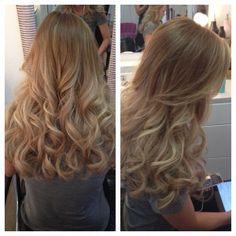 Hotheads Hair Extensions, Balayage Hair Color, Hair Salon near me Las Vegas.