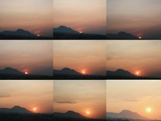 Sunrise time. Dago, Bandung