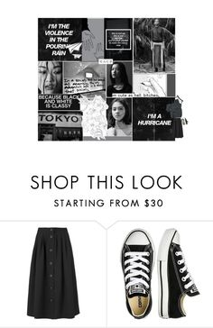 """""""September 21, 2016~7:59"""" by yongseohaejulge ❤ liked on Polyvore featuring Nico, Jaeger and Converse"""