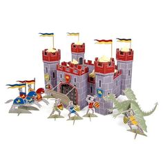 Meri-Meri - Brave Knights Castle Centrepiece