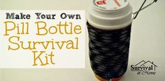 Most people want as much stuff as they can get in as small a container as possible. That's why the pill bottle survival kit is ideal for everyone to have.