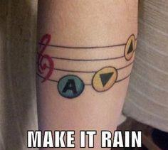 Zelda rain melody tattoo - Nintendo 64 Photos - 1071870 | Retro MMGN Australia