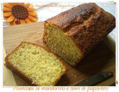 Plum cake al mandarino e semi di papavero