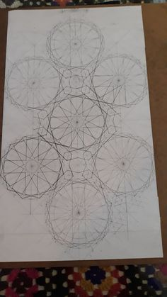 Rugs, Home Decor, Geometric Drawing, Drawings, Farmhouse Rugs, Decoration Home, Room Decor, Home Interior Design, Rug