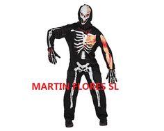 Disfraz de muerto viviente. Mucha más variedad en www.martinfloressl.es
