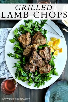 Grilled lamb loin chops are a quick and easy dinner. They cook in about 12 minutes, which makes this recipe a winner for weeknight dinners.  #grilledlamb #lambchops #grillrecipes Healthy Dishes, Easy Healthy Recipes, Quick Easy Meals, Healthy Cooking, Lamb Loin Chops, Grilled Lamb Chops, Lamb Recipes, Dinner Recipes, Dinner Ideas
