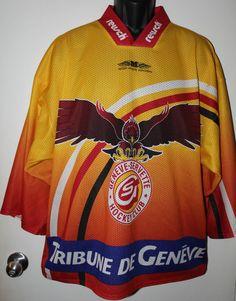 Geneve-Servette Swiss Hockey Club Jersey Tribune De Reusch Metzen Munchen