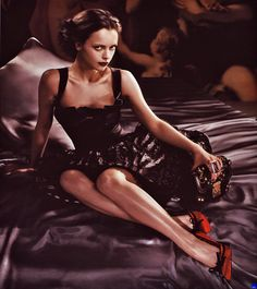 Christina Ricci for Louis Vuitton, Fall 2008