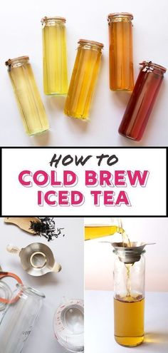 How to Easily Make the Best Iced Tea (Cold Brew It!) The secret to the perfect iced tea is to cold brew it. Step-by-step directions on how to cold brew tea at home. PLUS, how to make fresh fruit iced tea! Kombucha, Fruit Ice, Fresh Fruit, Best Tea Brands, Best Matcha Tea, Tea For Colds, Iced Tea Recipes, Drink Recipes, Coffee Recipes