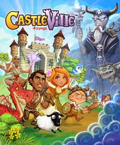 CastleVille   I love playing this game